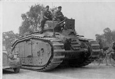 Panzerkampfwagen B-2 740 (f) - Flamm - 2nd version.