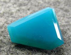 6.70 ct Rare Designer GEM Silica Chrysocolla Ray mine Az Free-form 14 x 11 mm #JewelsRoughGems