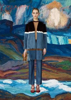 Valentino Pre-Fall 2015 - art and fashion paired in the most perfect of ways.