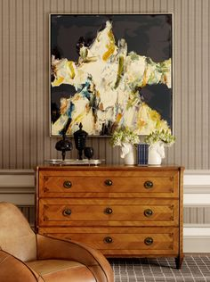 Savvy Home: Delightful Daily -- what a beautiful chest and pretty styling