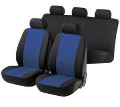 Autositzbezug Speed schwarz/blau