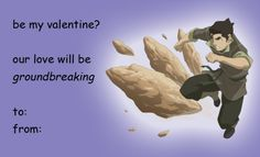 Korra Valentines!!!!!