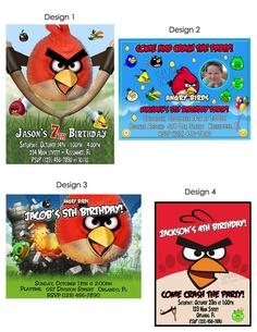 angry bird invite