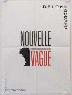 Nouvelle Vague original release french movie poster - Galerie filmposter.net