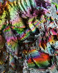 Iridescent hematite goethite from Graves Mountain, Georgia ~ Rodney Moore Cool Rocks, Beautiful Rocks, Minerals And Gemstones, Rocks And Minerals, Mineral Stone, Rocks And Gems, Art Plastique, Gemstone Colors, Stones And Crystals