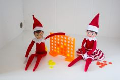 Dollar Tree finds, cleaver Elf on the shelf ideas by Dazzling Hospitality