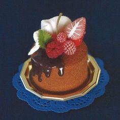 Petits gâteaux en feutrine - L'atelier d'Amandrine