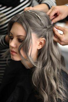 Hair Color On Pinterest Silver Hair White Hair And Grey Hair Gray Hair Color Gray Hair Color 2015 2016