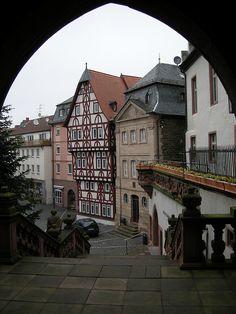 Aschaffenburg, Germany. I've been here plenty of times! I love it!