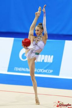 Maria Titova. Gorgeous leotard! I want!!