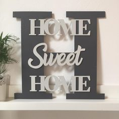 Wood Wall Decor, Wooden Wall Art, Wooden Diy, Wood Art, Sweet Home, Home Decoracion, Diy Wood Signs, Letter A Crafts, Laser Cut Wood