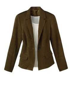 Textured casual jacket