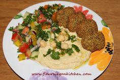 Falafel Cardamom Powder, Coriander Powder, Veg Recipes, Vegetarian Recipes, Frying Oil, Vegan Kitchen, Chili Powder, Falafel, A Food