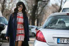 Streetstyle: pink colore os look das fashionistas pelas ruas de Milão - Vogue | Streetstyle
