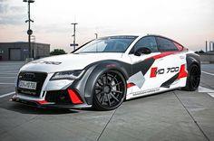 Audi S7 im brachialen Rennwagen-Look: Mit 700 PS bereit für die Piste