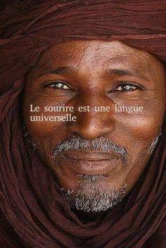a smile speaks a universal language