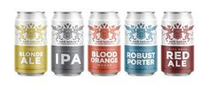 New Sarum Brewing Cans — The Dieline - Branding & Packaging Design