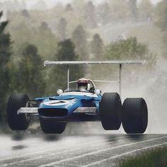"Jackie Stewart (Matra-Ford) Grand Prix d'Allemagne - Nurburgring 1969 """