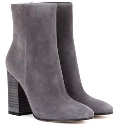 41887c01af29 Shop GIANVITO ROSSI SUEDE ANKLE BOOTS, LAPIS, starting at $1123. Similar  ones also