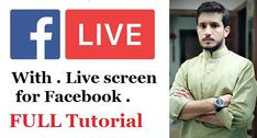 How to live Pre Recorded video on facebook..