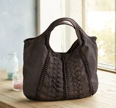Hug Me Hobo - This soft Italian-made leather hobo bag effortlessly adds a luxe accent to any look.
