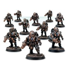 Mechanicum Tech-Thrall Covenant with Mitraloacks