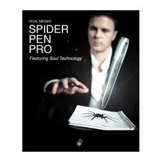 Cand folosesti Spider Pen Pro, levitatiile si animatiile trucurilor tale vor parea efecte speciale ca cele realizate pe scenele din Hollywood.