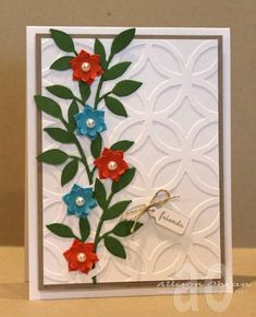 Lattice and Vines by alliohran - Cards and Paper Crafts at Splitcoaststampers