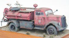 Opel Blitz Firetruck 1/24 Scale Model