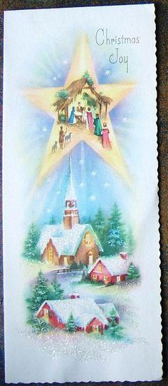 Check out Church Nativity Star Glitter Christmas Joy Greeting Card X1306 USA Vintage  http://www.ebay.com/itm/Church-Nativity-Star-Glitter-Christmas-Joy-Greeting-Card-X1306-USA-Vintage-/151892627881?roken=cUgayN&soutkn=srDntY via @eBay