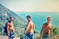 Mountain trek through CinqueTerre