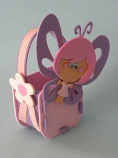 Fairy Gift Box. I couldn't find template or purchase info on link but kept it…