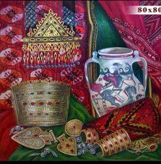 Afghanistan Turkman jewelry