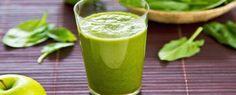 Groene sap om je botten sterker te maken en je lichaam van energie te voorzien.