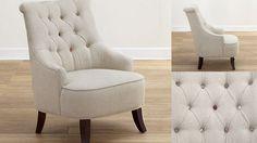 button chair// via worldmarket.com