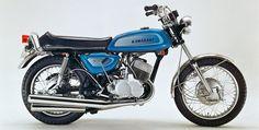 kawasaki 500 H 1 Mach III H1A 1971