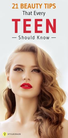 Here are all the home beauty tips for girls in their teens. #BeautyTips
