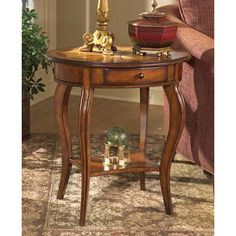 Masterpiece Oval Accent Table