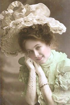 The lovely and talented Billie Burke. She played the good witch of the Wizard of Oz.