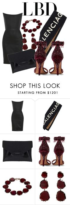 """Senza titolo #83"" by victoriamuller-it ❤ liked on Polyvore featuring Gareth Pugh, Balenciaga, Givenchy and Annoushka"