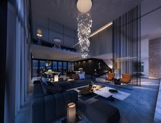 Dream House Interior, Luxury Homes Dream Houses, Luxury Homes Interior, Dream Home Design, Luxury Apartments, Modern House Design, Luxury Penthouse, Style At Home, Dream Apartment