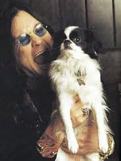Ozzy and a family dog