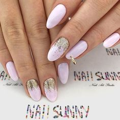 Delicate Piercing Accent For Unusual Mani #pinknails #ombrenails #glitterombre #piercingnails #nailpiercing ★ Classy luxury nails ideas for the real princess who values fashion above all! ★ See more: https://glaminati.com/luxury-nails-design-ideas/ #glaminati #lifestyle #nails #luxurynails #nailstyle #nailart #naildesigns