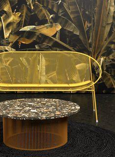 Haldane Martin: The New Outdoor Collections Quality Furniture, Modern Furniture, Furniture Design, Memphis, African Furniture, Interior And Exterior, Interior Design, Lounge, Pool Bar