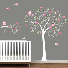wall decal vinyl wall decals tree and branch with by Modernwalls, $129.00