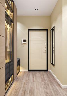 Scandinavian Hallway on Behance Foyer Staircase, Autodesk 3ds Max, Architecture Visualization, Scandinavian, Behance, Interior Design, Nest Design, Home Interior Design, Interior Designing