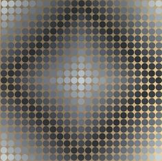 Victor Vasarely, Untitled, c. 1960s Виктор Вазарели, Оптические Иллюзии, Оп  Арт 2b2b22c10cb