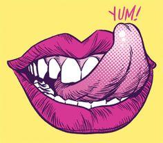 lip lick