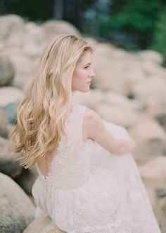 Beach Wedding Hairstyle - Tousled Waves | Brides.com