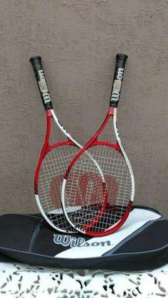 47c88d09 Raquete de tênis Wilson Roger Federer nova. Tenho duas, cada uma R$ 180
